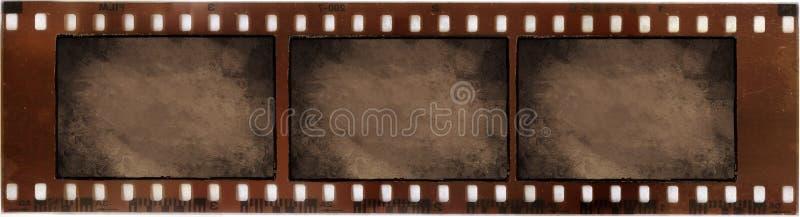 Annata sulla pellicola fotografica immagine stock