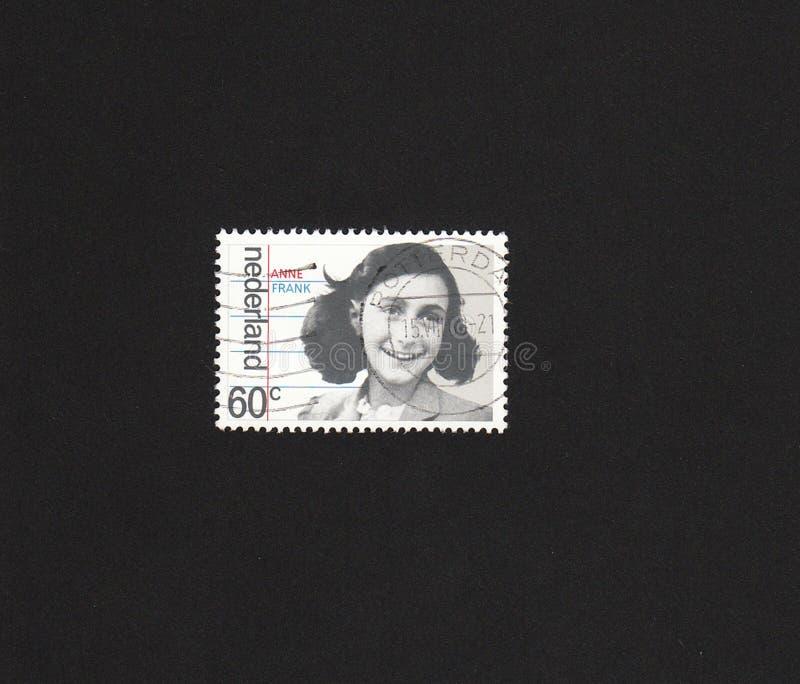 anne dutch frank image stamp στοκ εικόνες