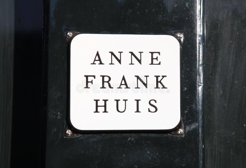 Anne Frank House, Amsterdam, Netherlands. stock photo