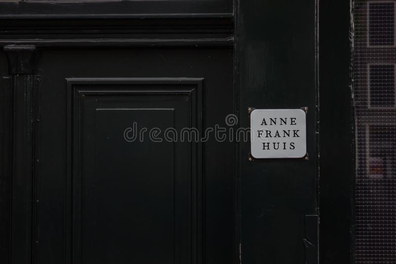 Anne Frank House stock photography