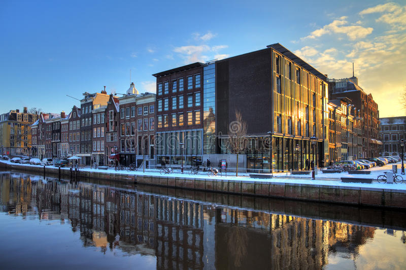 Anne Frank-huis royalty-vrije stock foto