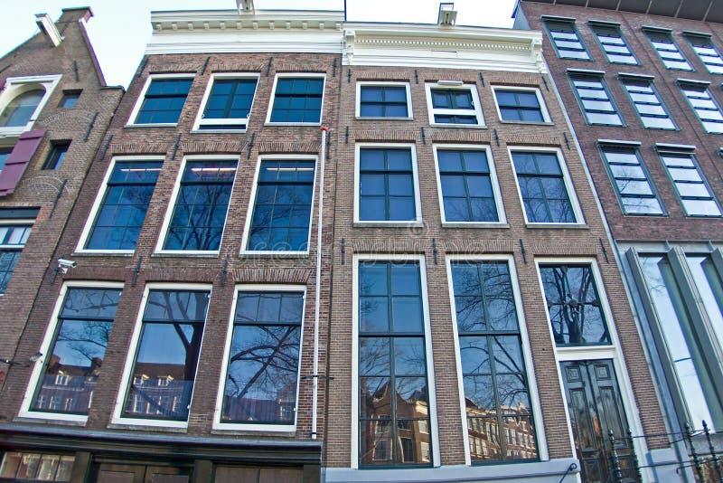 Anne Frankhouse fotografia de stock royalty free