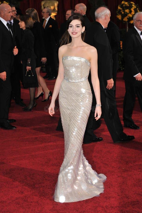 Anne Hathaway fotografie stock libere da diritti