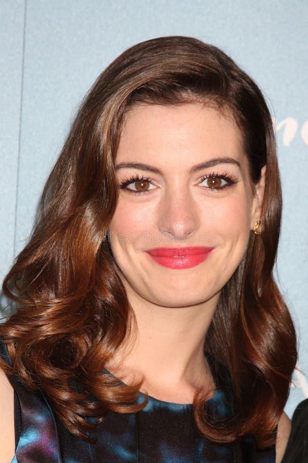 Anne Hathaway obraz stock