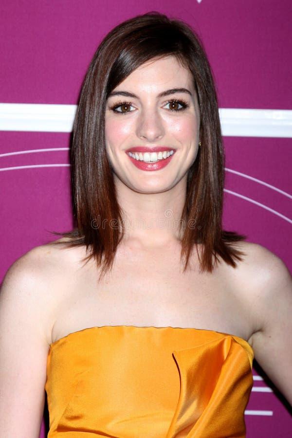 Anne Hathaway images libres de droits