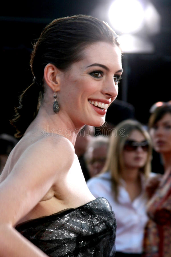 Download Anne Hathaway editorial stock photo. Image of mann, june - 26911288