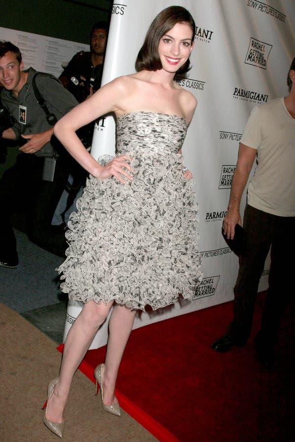 Anne Hathaway image libre de droits