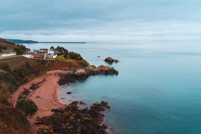 Anne Port, débardeur, Îles Anglo-Normandes photo stock