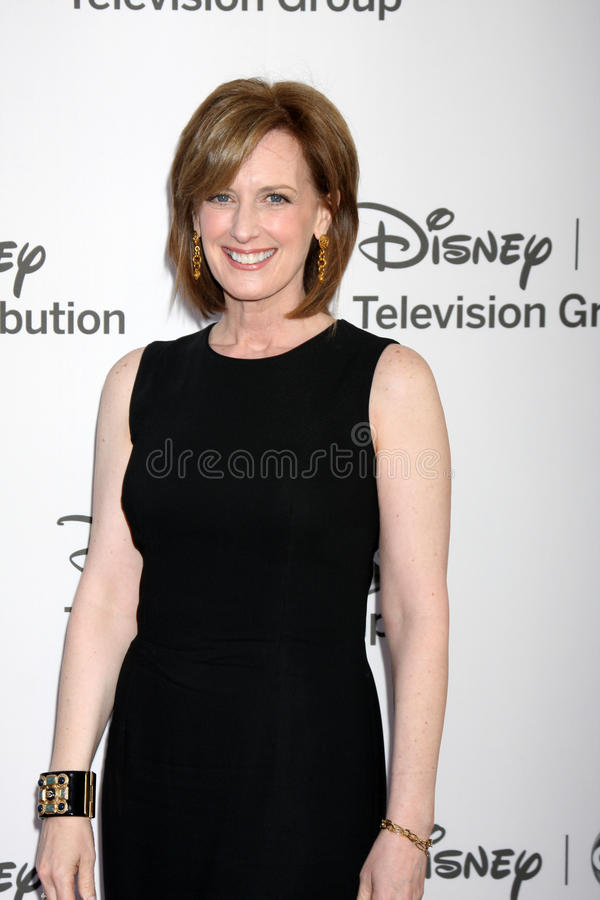 Anne Sweeney arrives at the ABC / Disney International Upfronts