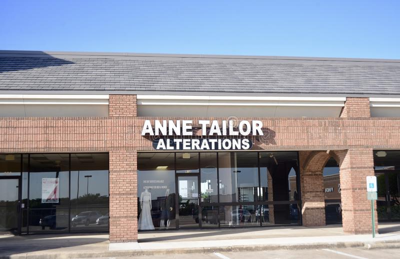 Anne Tailor Alterations, Fort Worth, il Texas immagini stock