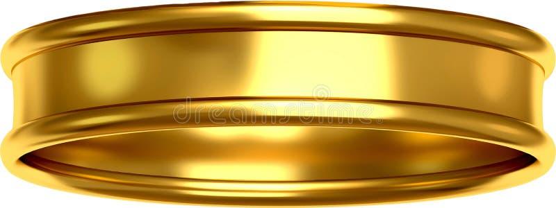 Anneau d'or image stock
