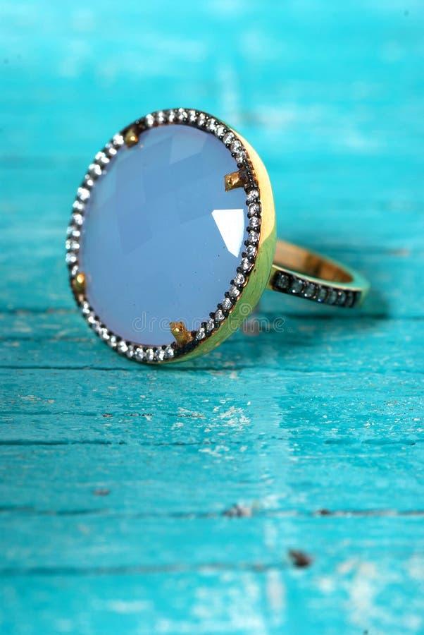 Anneau de bijoux photographie stock