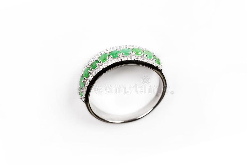 Anneau de luxe de Diamond Ring /Elegance photo libre de droits