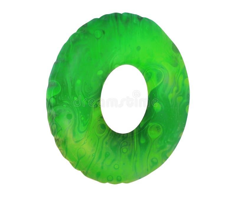 Anneau vert de bain illustration libre de droits