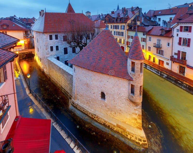 Annecy πόλη παλαιά στοκ εικόνες με δικαίωμα ελεύθερης χρήσης