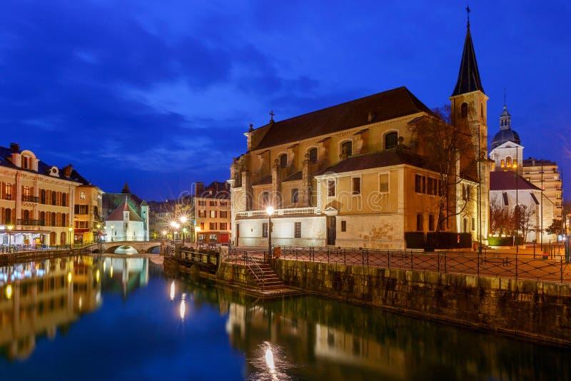 Annecy πόλη παλαιά στοκ φωτογραφία με δικαίωμα ελεύθερης χρήσης