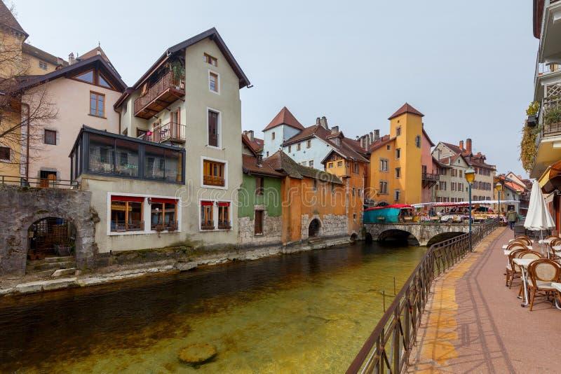 Annecy πόλη παλαιά στοκ φωτογραφίες