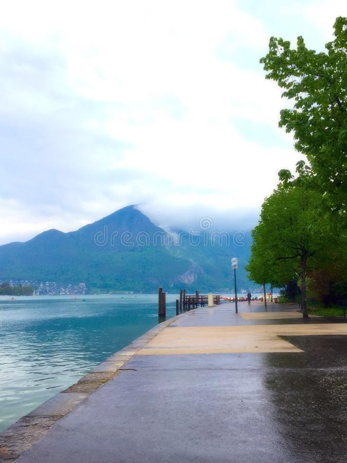 Annecy obrazy royalty free