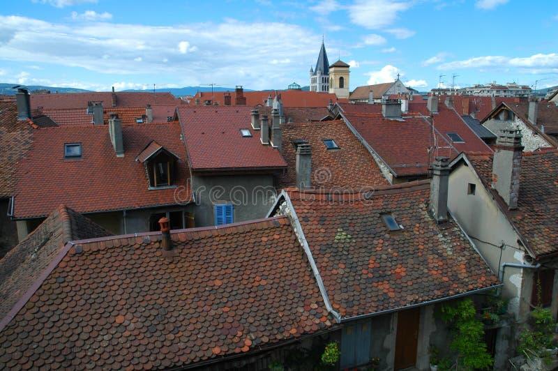 Annecy dach obrazy royalty free