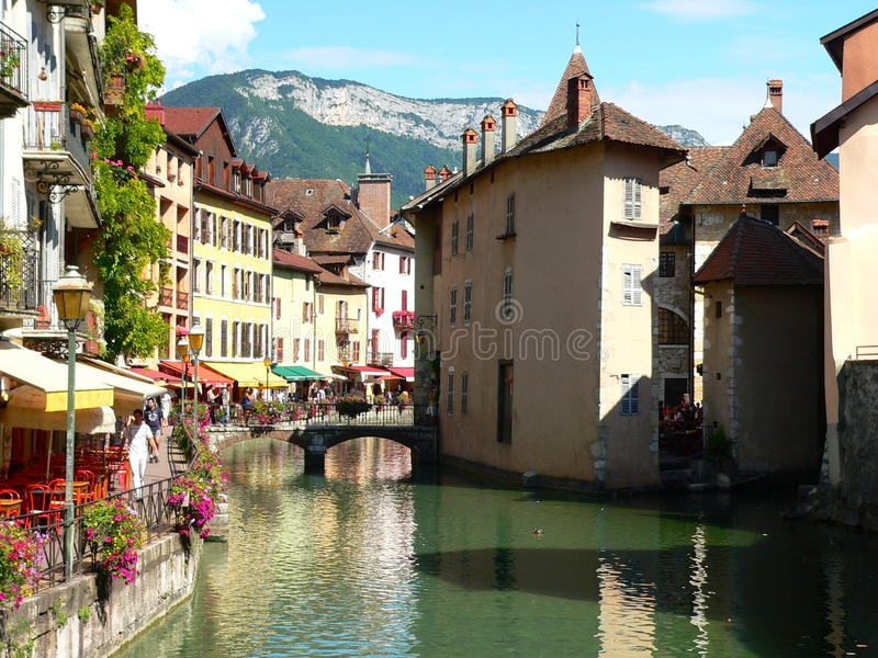 Annecy (Frankrike) royaltyfri foto