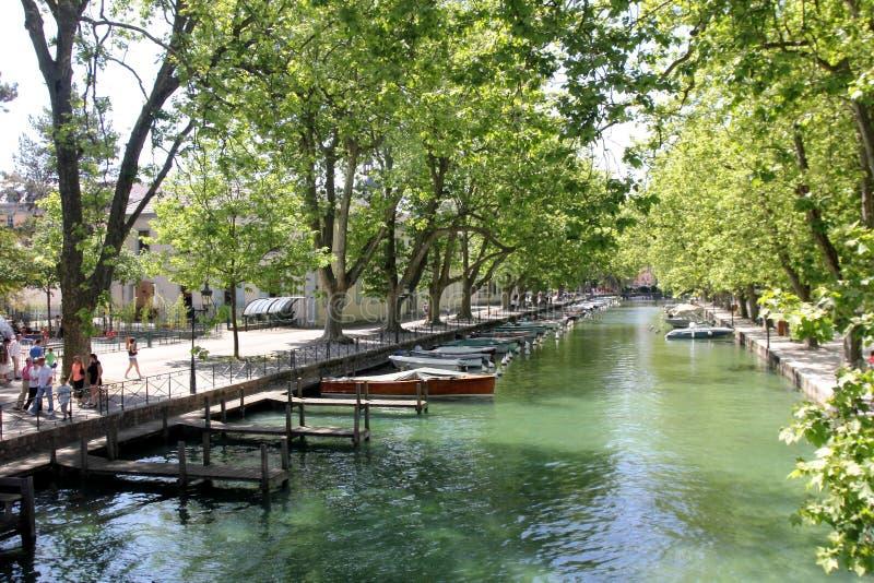 Annecy, Haute Savoie, Frankrijk stock afbeeldingen