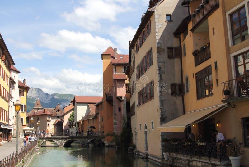 Annecy, Haute Savoie, Frankrijk royalty-vrije stock foto's