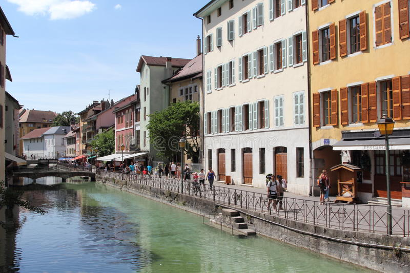 Annecy, Haute Savoie, Frankrijk royalty-vrije stock fotografie