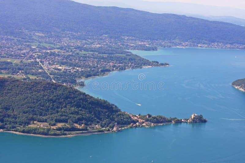 annecy jezioro France fotografia royalty free