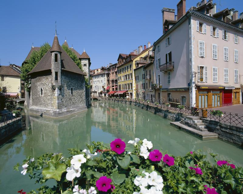 ANNECY, RHONE ALPS FRANCE stock photo