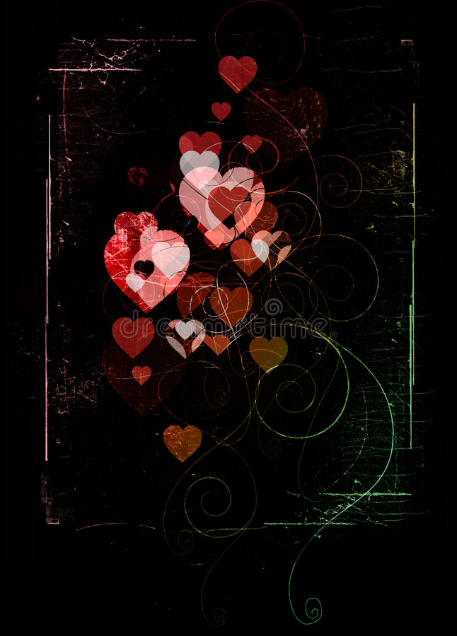 Annerisca il biglietto di S. Valentino royalty illustrazione gratis