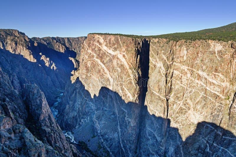 Annerisca il canyon del Gunnison fotografia stock libera da diritti