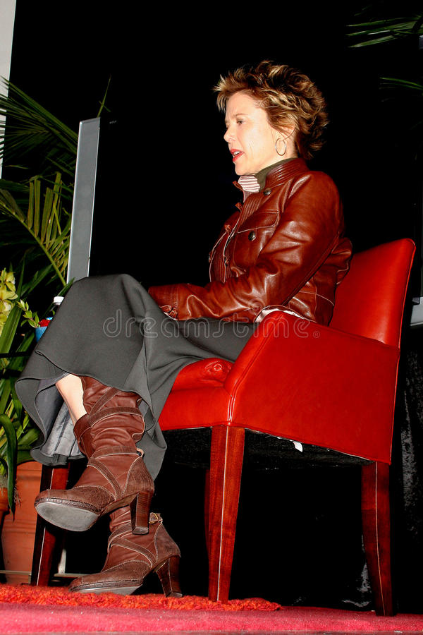Download Annette Bening redaktionell bild. Bild av tribute, internationellt - 37346916