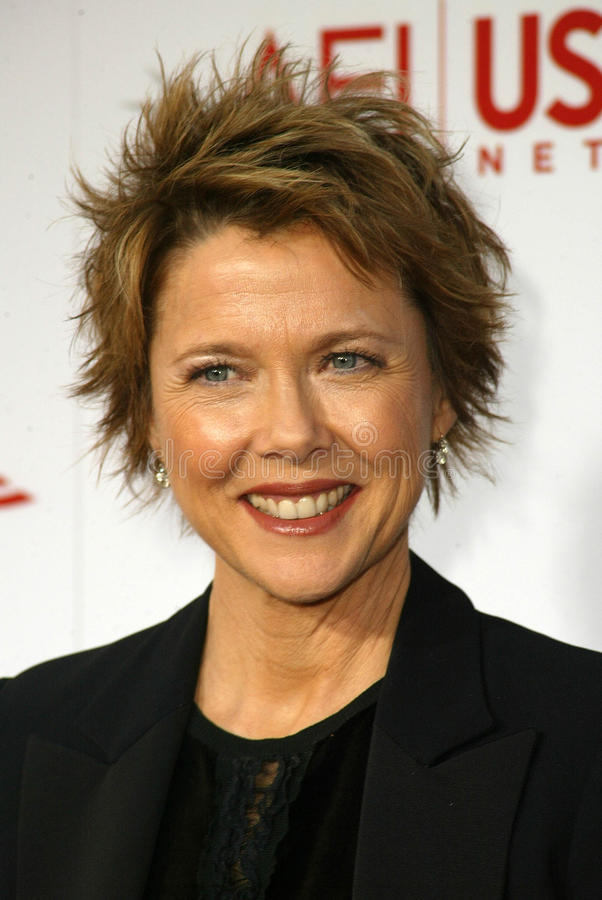 Annette Bening. At the AFI 33rd Life Achievement Award honoring George Lucas, Kodak Theater, Hollywood, CA 06-09-05 stock image