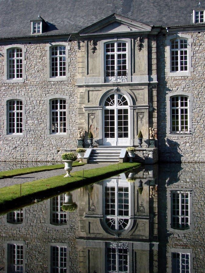 Annevoi Schloss, Belgien stockfoto