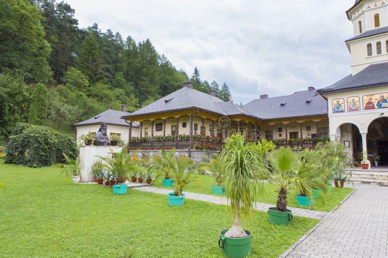 Annexe de monastère de Toplita photographie stock libre de droits
