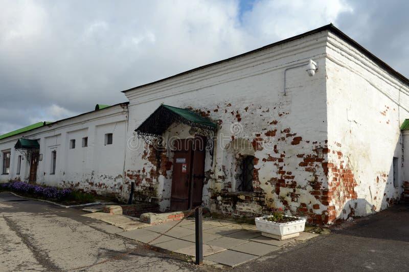 Annexes de la cour du ` s d'évêque à Riazan Kremlin photo stock