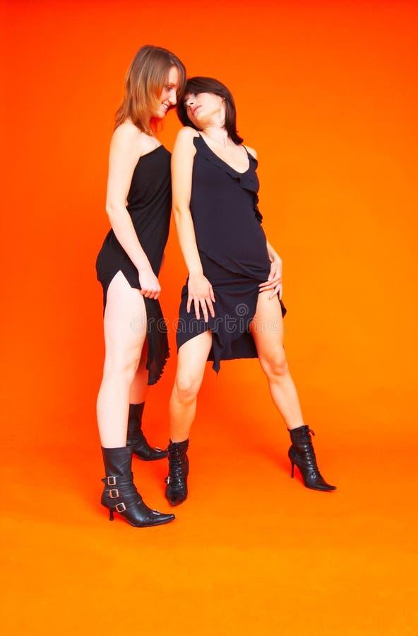 Anni dell'adolescenza 3 di Dancing fotografie stock libere da diritti