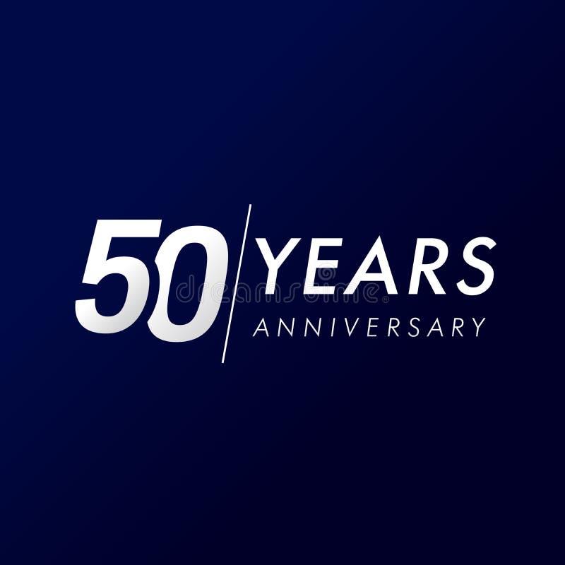 50 anni di anniversario, dal 1969 illustrazione di stock