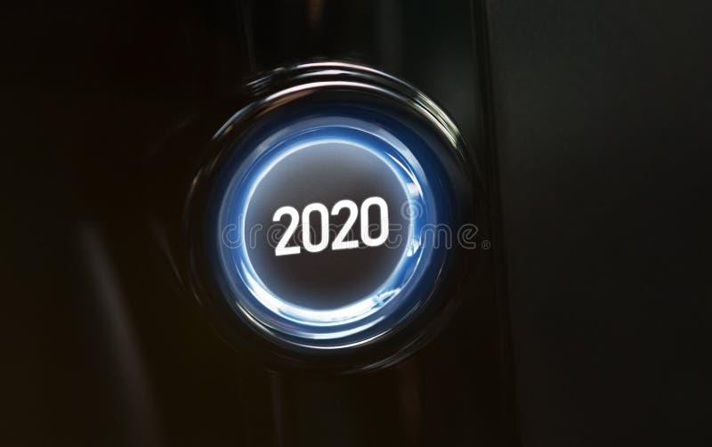 2020 anni sono concetto venente immagini stock