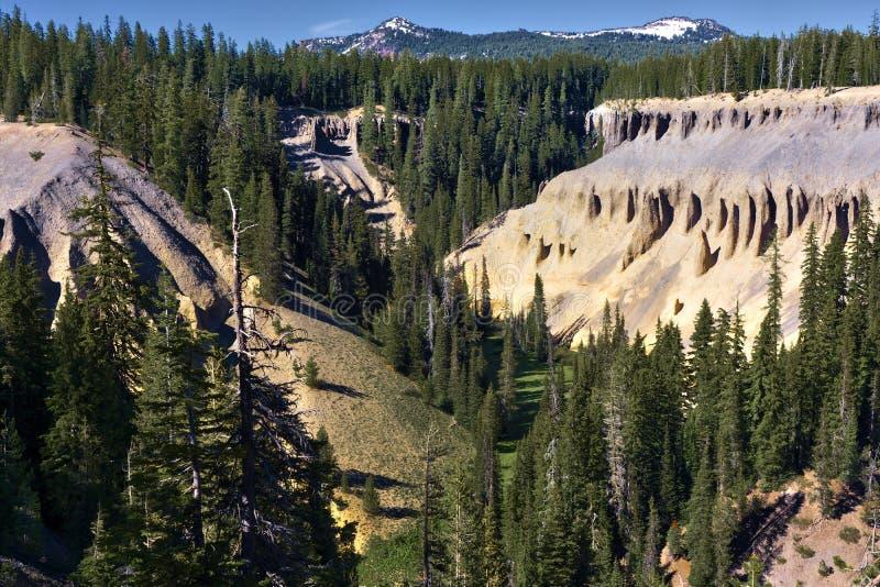 Annie Creek Canyon stock photo