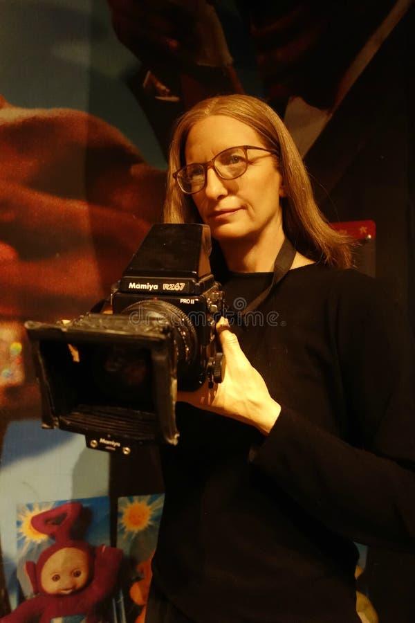 Annie Leibovitz Wax Figure fotografia stock libera da diritti