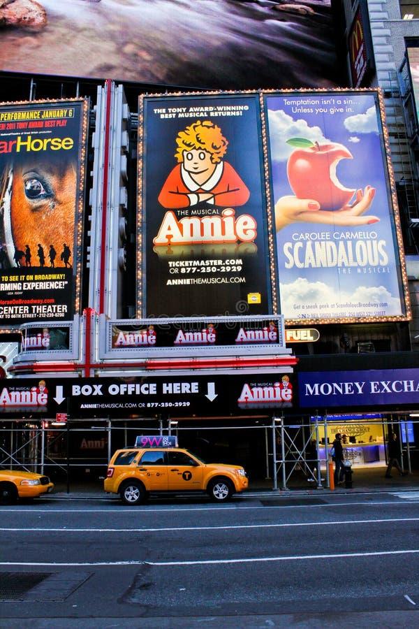 Annie o Musical imagens de stock royalty free