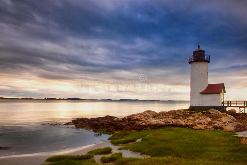 Download Annisquam Lighthouse stock image. Image of navigation - 13474289