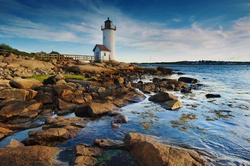 Download Annisquam lighthouse stock image. Image of seashore, ocean - 26328553