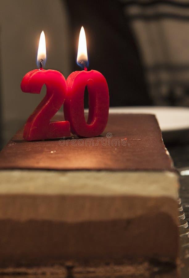 anniversaire 20 images libres de droits
