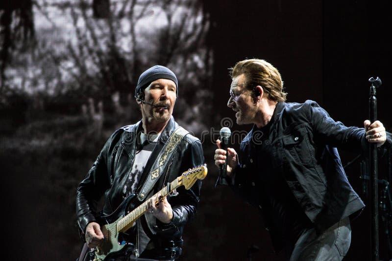 2017 anniversaire d'U2 Joshua Tree World Tour-30th photographie stock libre de droits