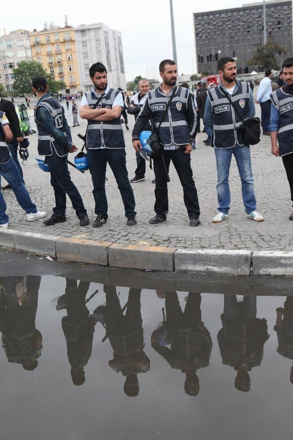 Anniversario del parco di Gezi a Costantinopoli fotografie stock libere da diritti