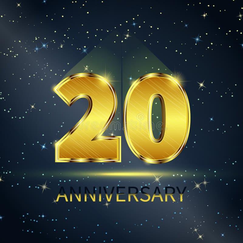 anniversary ilustração royalty free