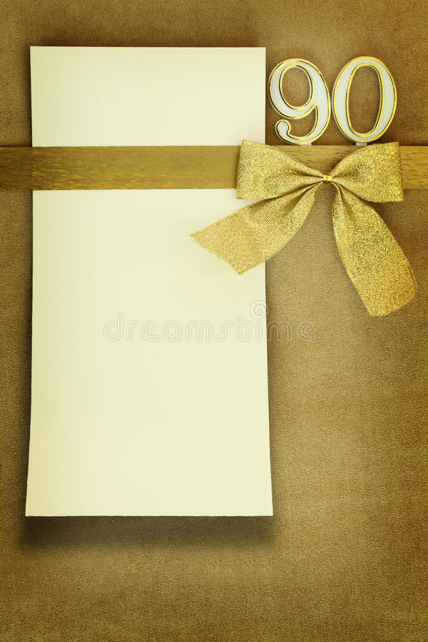 Anniversary card royalty free stock photography