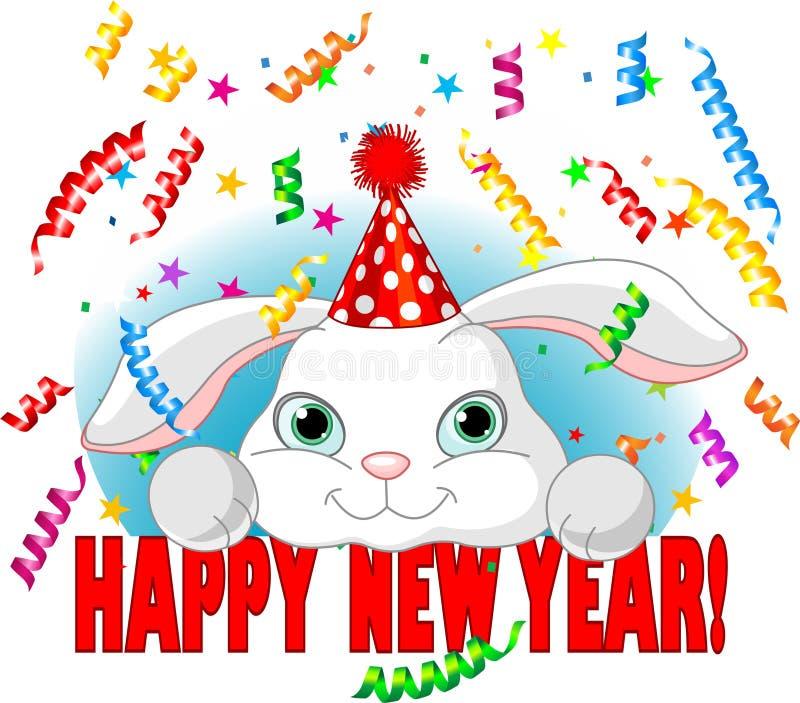Anno del coniglio royalty illustrazione gratis
